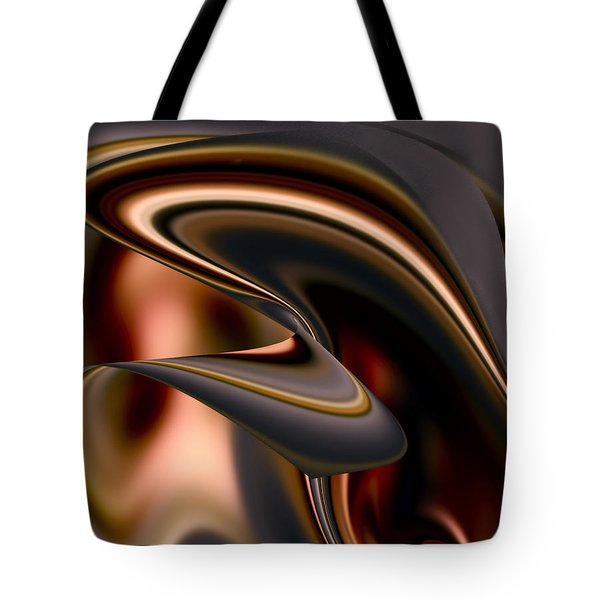 Chocolate Tote Bag by Diane Dugas