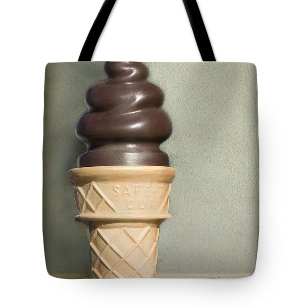 Chocolate Dipped Cone Tote Bag by Cindy Garber Iverson