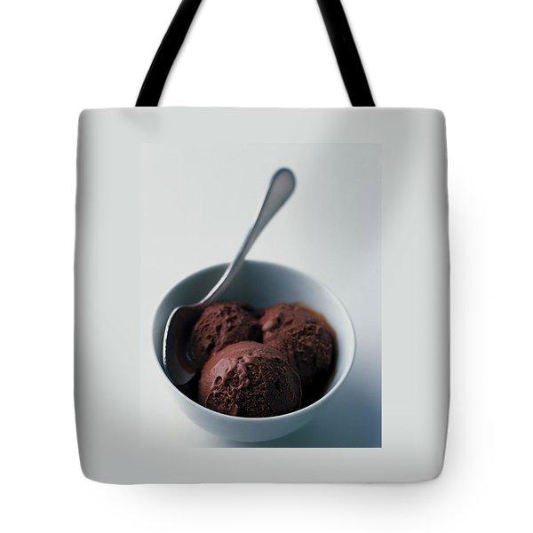 Chocolate Gelato Tote Bag