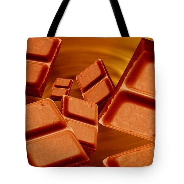 Chocolate Tote Bag by Michal Bednarek