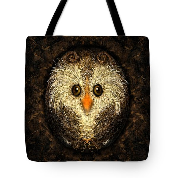 Chocolate Nested Easter Owl Tote Bag