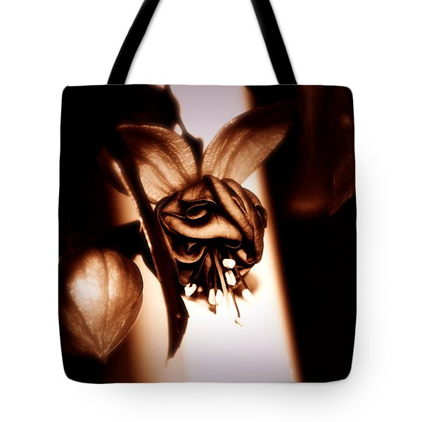 Chocolate Silk Fuchsia Tote Bag by Jeanette C Landstrom