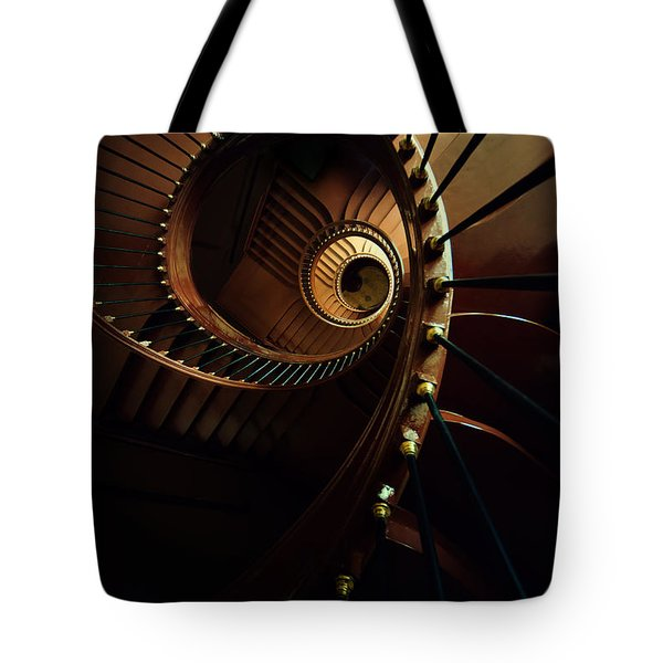 Chocolate Spirals Tote Bag