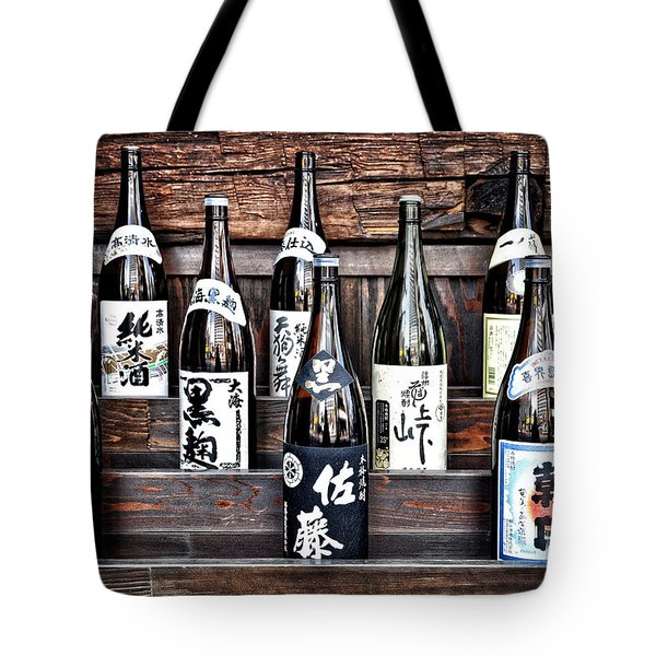 Choice Of Sake Tote Bag by Delphimages Photo Creations