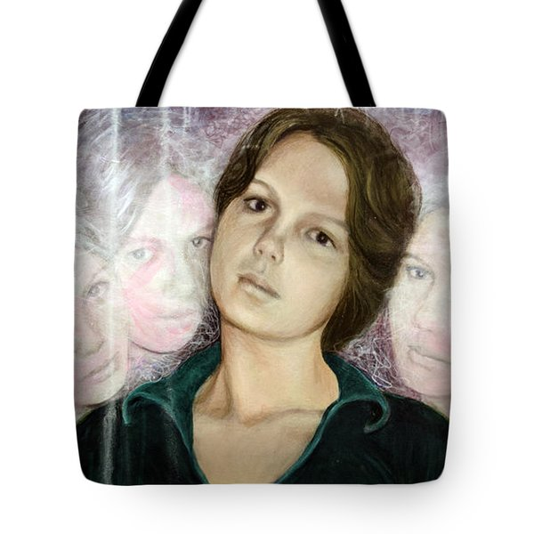Choices Portrait Of Eva Lynn Horton Tote Bag
