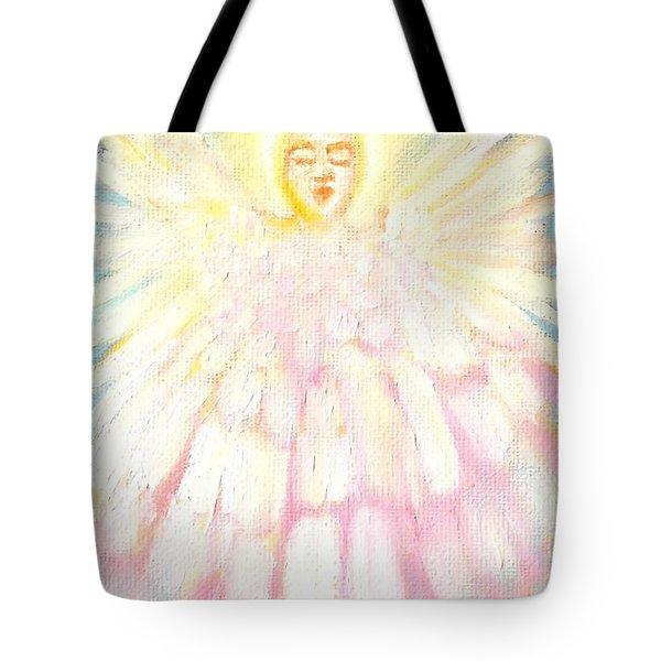 Choiring Angel Tote Bag