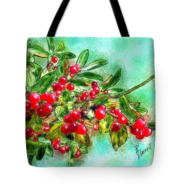 Chokecherry Branch Tote Bag