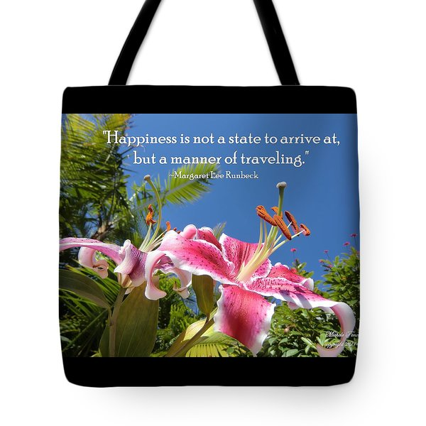 Choose Your Quote Choose Your Picture 16 Tote Bag
