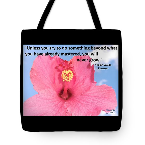 Choose Your Quote Choose Your Picture 5 Tote Bag