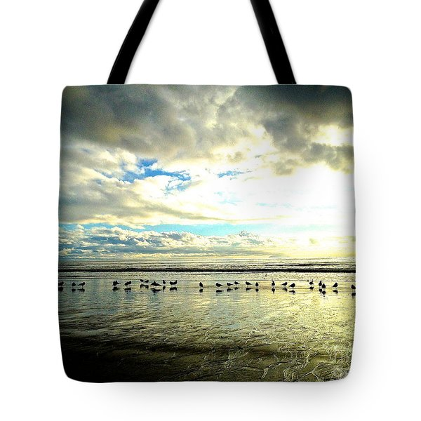 A Chorus Line  Tote Bag by Margie Amberge