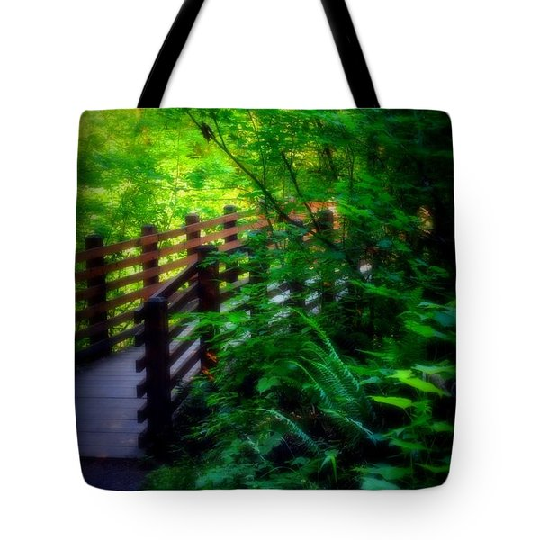 Tote Bag featuring the photograph Chosen Path by Amanda Eberly-Kudamik