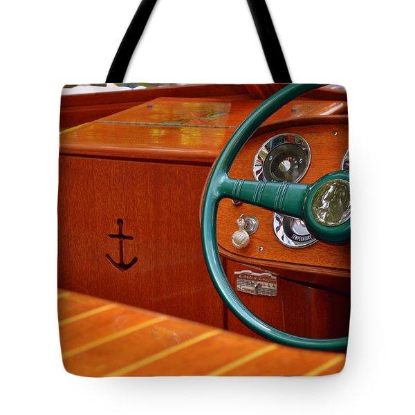 Chris Craft Cockpit Tote Bag