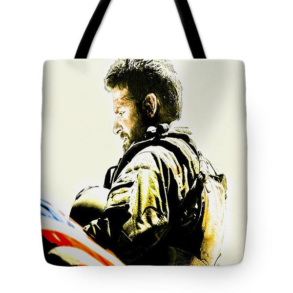 Chris Kyle Tote Bag