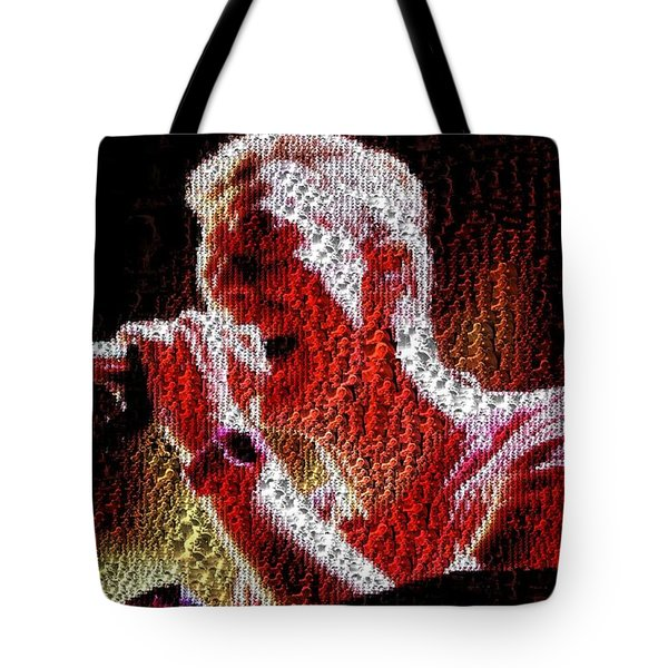 Chris Martin - Montage Tote Bag
