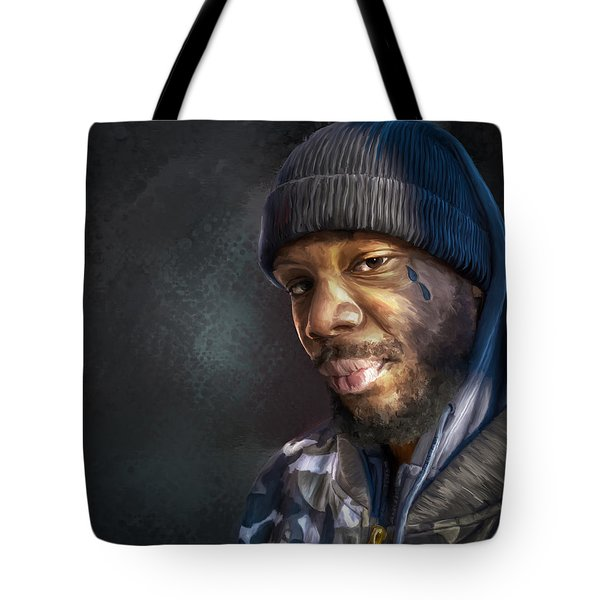 Chris Tote Bag by Rick Mosher
