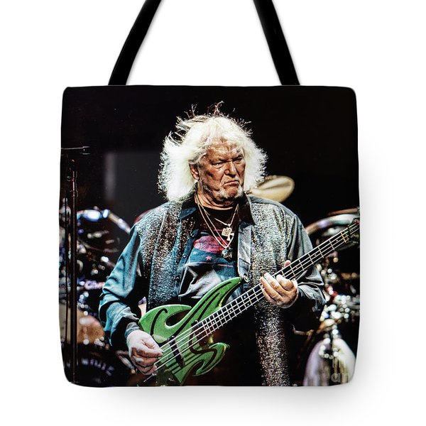 Chris Squire From Yes Tote Bag