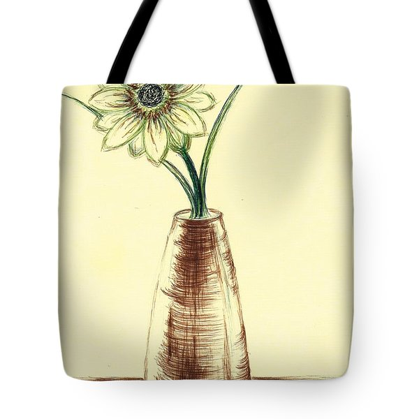 Chrysanthemum Flower Tote Bag