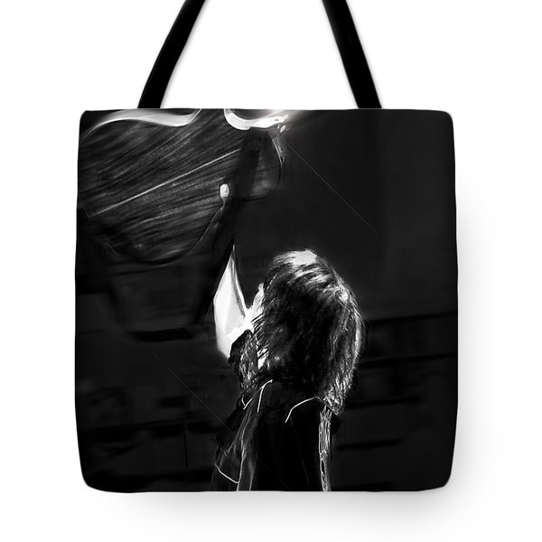Chrissie Hynde Encore By Denise Dube Tote Bag