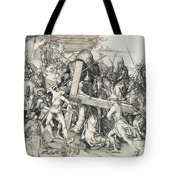 Christ Bearing His Cross Tote Bag