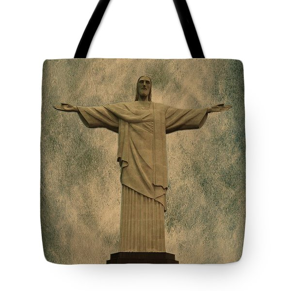 Christ The Redeemer Brazil Tote Bag
