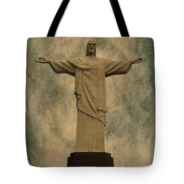 Christ The Redeemer Brazil Tote Bag by David Dehner