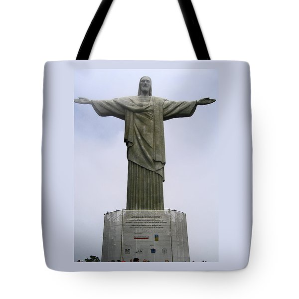 Christ The Redeemer Rio Tote Bag
