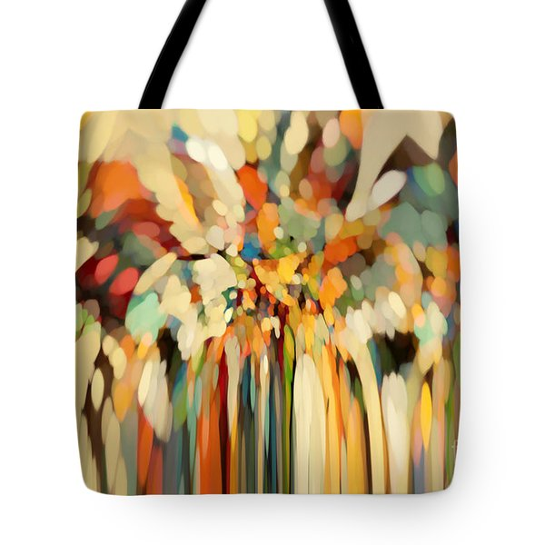 Christian Art- Angels Guiding Lot. Genesis 19 15 Tote Bag by Mark Lawrence