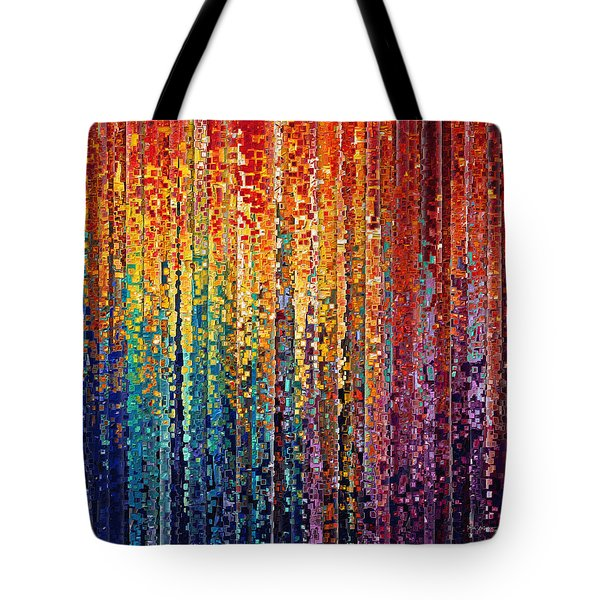 Christian Art- God Who Works In You. Philippians 2 13 Tote Bag by Mark Lawrence