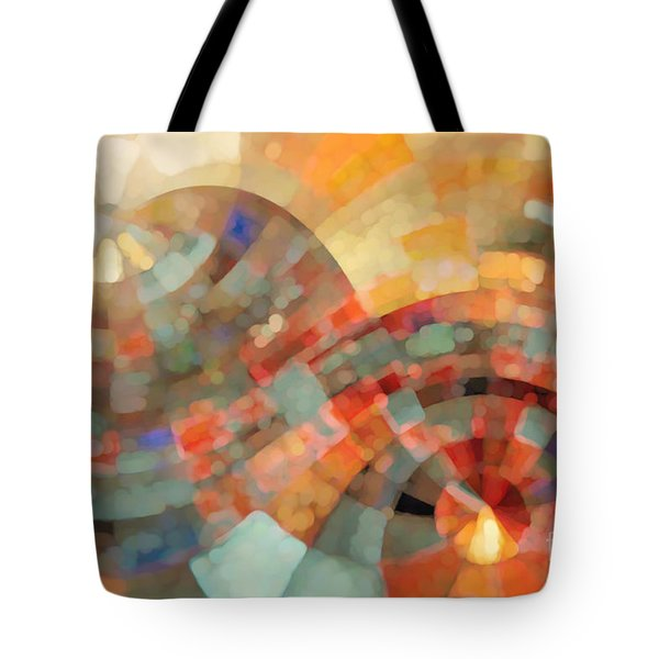 Christian Art- My Refuge Deuteronomy 33 27  Tote Bag by Mark Lawrence