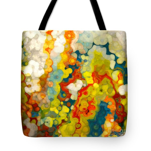 Christian Art- Philippians 1 6. God Completes What He Starts Tote Bag