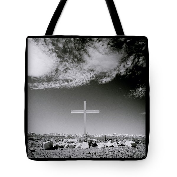 Christian Grave Tote Bag by Shaun Higson