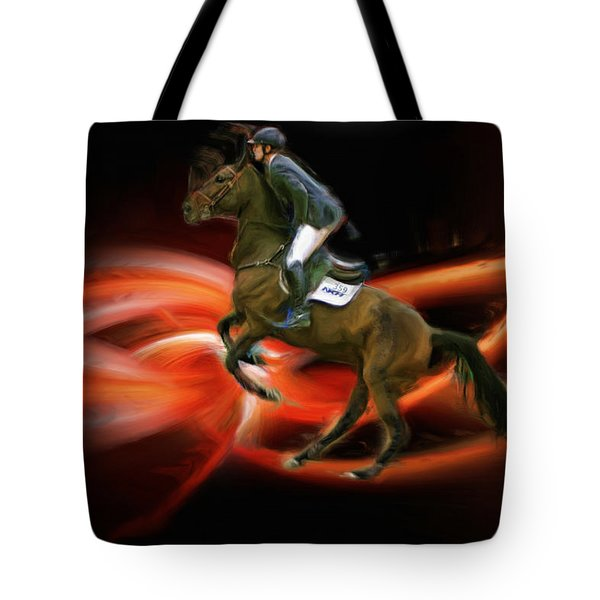 Christian Heineking On Horse Nkr Selena Tote Bag