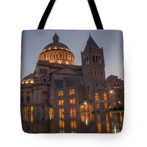 Christian Science Center 2 Tote Bag by Mike Ste Marie