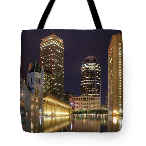 Christian Science Center-boston Tote Bag by Joann Vitali