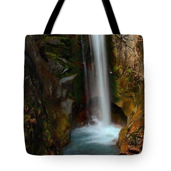 Christine Waterfall Tote Bag