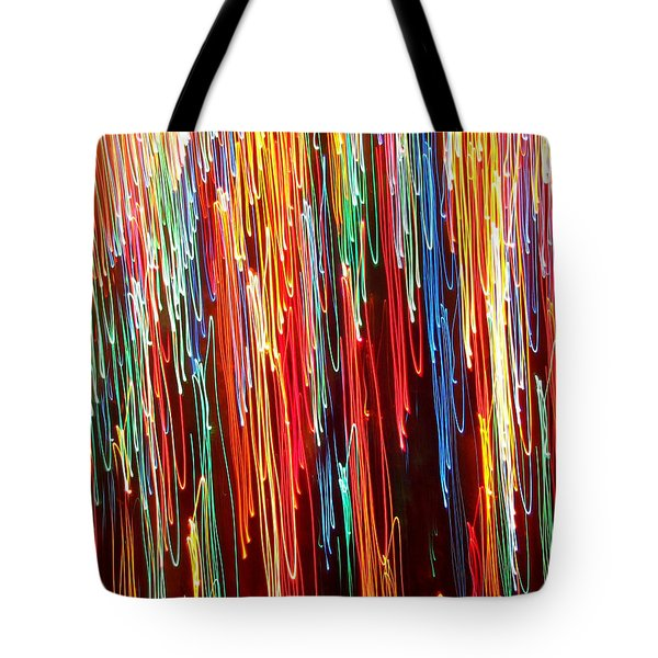 A Rainbow Melting  Tote Bag