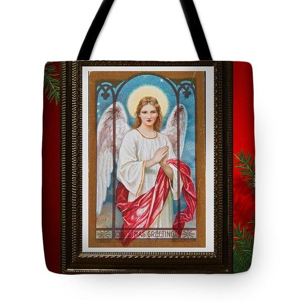 Christmas Angel Art Prints Or Cards Tote Bag
