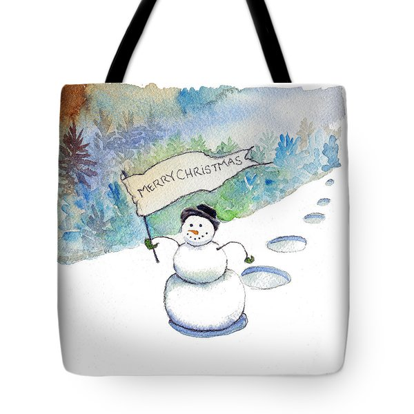Christmas Announcement Tote Bag