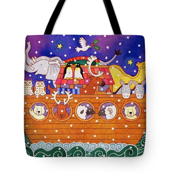 Christmas Ark Tote Bag