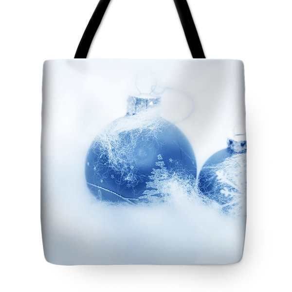 Christmas Balls Decoration Tote Bag by Michal Bednarek