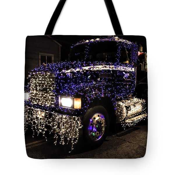 Christmas Big Rig Tote Bag