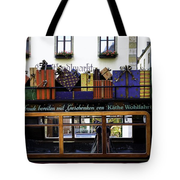 Christmas By Kathe Wohlfahrt  Tote Bag by Joanna Madloch