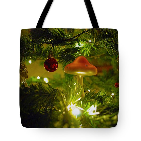 Tote Bag featuring the photograph Christmas Card by Cassandra Buckley
