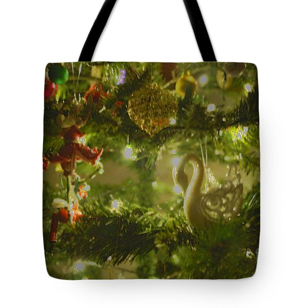 Tote Bag featuring the photograph Christmas Cheer by Cassandra Buckley