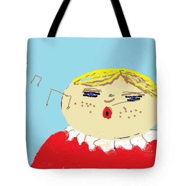 Christmas Choir Tote Bag by Tracey Williams