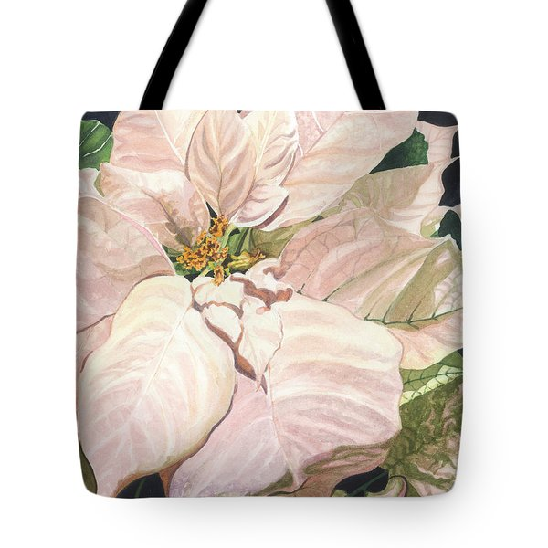 Tote Bag featuring the painting Christmas Classic by Barbara Jewell