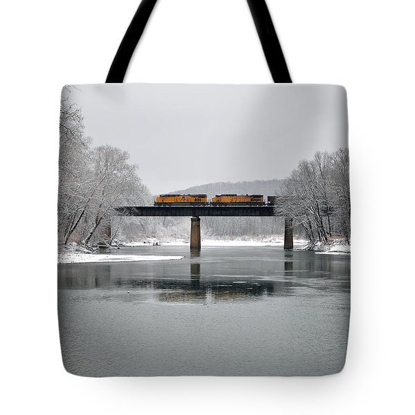 Christmas Coal Tote Bag