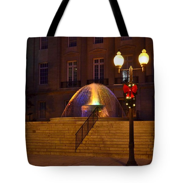 Tote Bag featuring the photograph Christmas Colors by Bob Sample