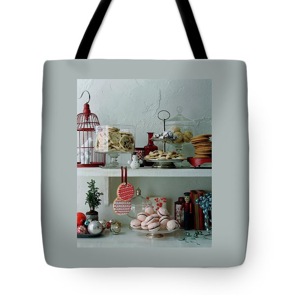 Christmas Cookies And Ornaments Tote Bag