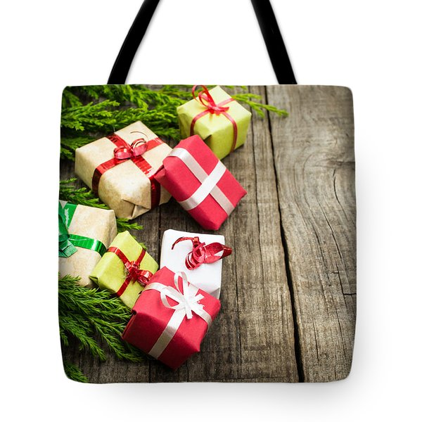 Christmas Decoration Tote Bag